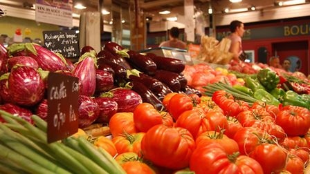 Fruit and vegetable at Les Halles