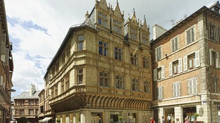 The historic town of Rodez is the commercial centre of Aveyron