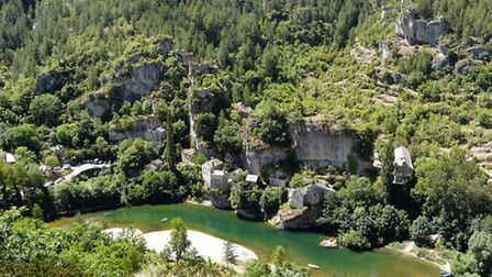 The beautiful Gorges du Tarn