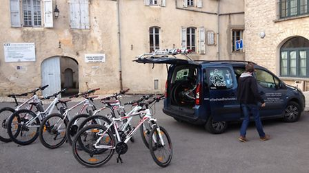 Mellow Velos hire bicycles to holidaymakers