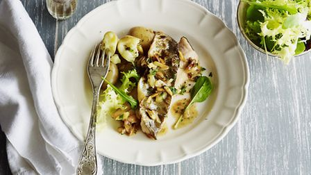 A classic fish dish that is perfect in the spring