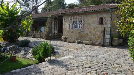 This secluded property in desirable Valbonne (Alpes-Maritimes) is on the market for E580,000