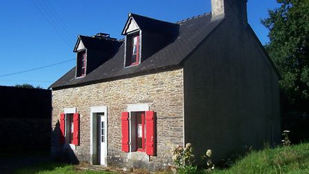 This two-bedroom cottage in Finistère is on the market for ¬55,000 (JB French Houses)