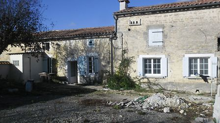 Priced at ¬81,000, this property in Charente has been partially renovated and the sale includes the