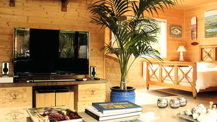The interior of the Surf Shack