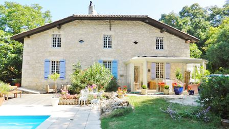 This five-bed stone house near St-Clar is on the market for E287,000
