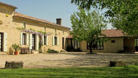 Julie's pick: this renovated stone house in Dordogne has a proven record as a thriving rental busine