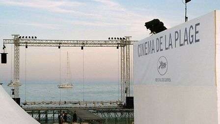 The centre stage at the Cannes Film Festival