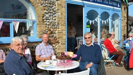 Bids can be made to run North Lodge tea rooms in Cromer. Picture by Dave 'Hubba' Roberts.