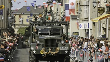 The D-Day festival is commemorating the 70th anniversary of the landings ©M. Quemener/OT Bayeaux Int