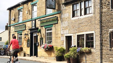 The Wuthering Heights Inn in Stanbury, near Haworth