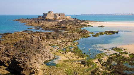 A view towards the Fort National in Saint-Malo, © Dreamstime