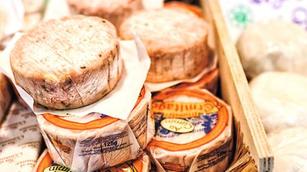 Tempting cheeses © Ed Anderson