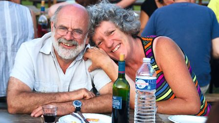Jane and Ian Slade love their life on Brittany's canals ©P. Lamarra/www.libje.eu