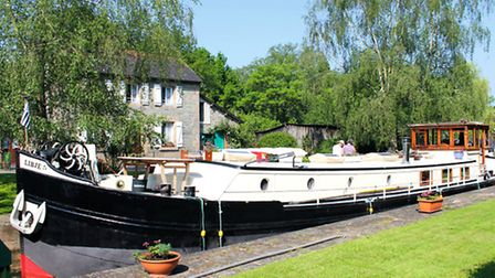 The Libje, Brittany's only luxury hotel barge ©P. Lamarra/www.libje.eu