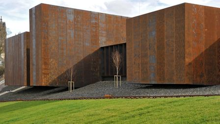 Soulages has donated 500 paintings to the museum in Rodez