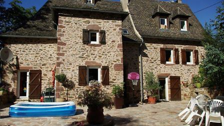 In a hamlet close to Rodez, this four-bedroom property is for sale for 183,000 euros