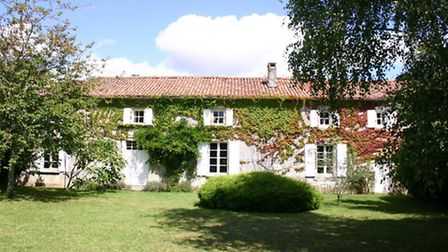 Joan's dream pick: a large, character Charentaise house with six bedrooms, barns and a pool, for sal