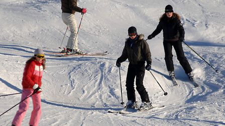 Recent snowfalls have raised hopes of a bumper ski season in the Alps