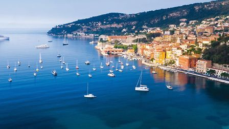 The breathtaking bay of Cannes shows exactly why this area is called the 'Azur Coast'