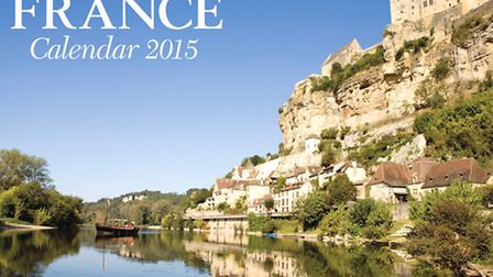 Front cover of FRANCE Calendar 2015