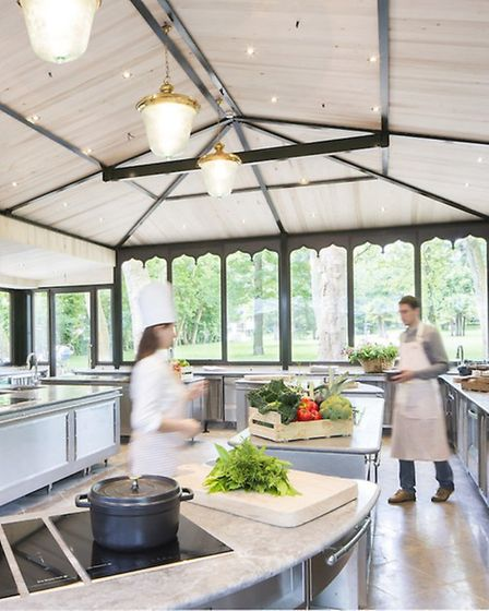 Cookery school where guests can learn Guérard's style of cooking