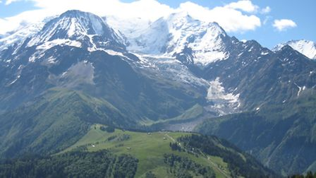 Less than an hour's drive from Geneva airport, Les Houches offers Tessa and Michael the authentic mo