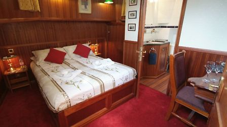 Luxurious and comfortable en suite cabins