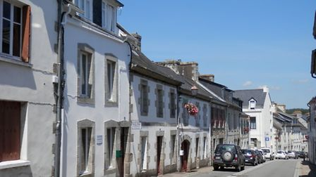 The quaint street where the B&B is situated