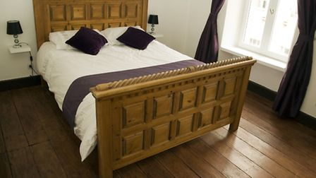One of the B&B's guest bedrooms
