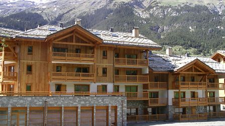 More new leaseback apartments are for sale at Le Chalet de Flambeau in the French Alpine village of