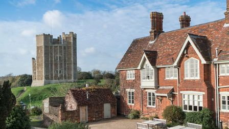 The Crown & Castle hotel and restaurant at Orford