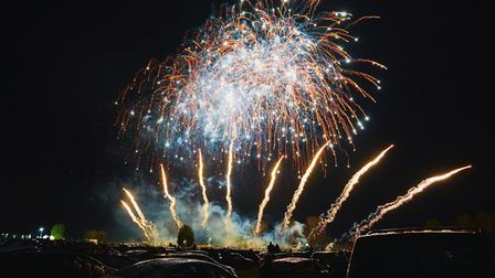 Autumn Lights at the Norfolk Showground will feature a huge firework display.