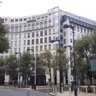 Westferry Circus which houses the East London Family Court.