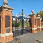 The fully refurbished gates in Stowmarket