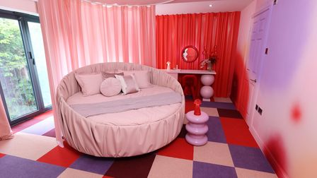 Nightclub owner Donna said she wanted a pink bedroom, and she was not let down