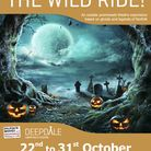 The poster for Haunted Deepdale - A Wild Ride!