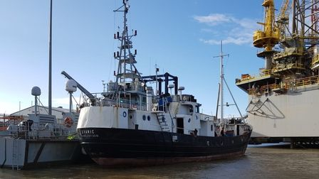 The Svanic, a converted fishing boat, was intercepted by Border Force off the Suffolk coast last year