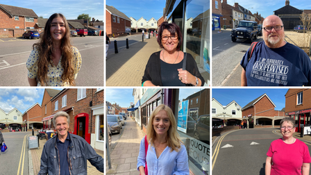 People in Dereham have been having their say on whether the town is lacking anything