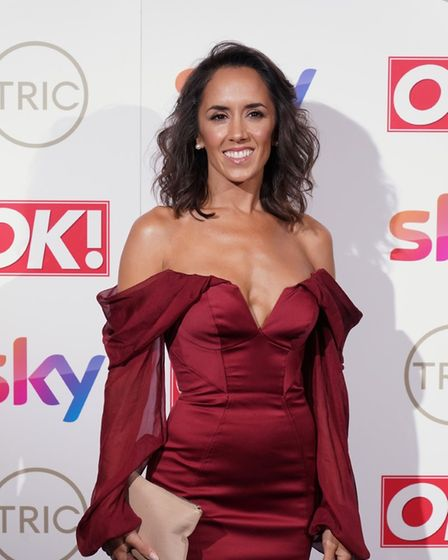 Janette Manara, former strictly professional dancer who now presents spin off show 'It Takes Two'