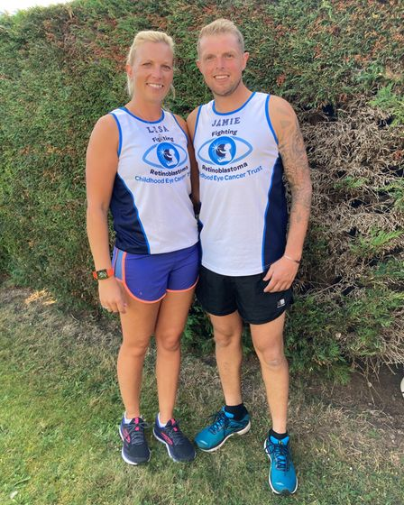 Lisa and Jamie Tubby, Ms Declerk's sister and brother-in-law, will be running the London Marathon in October for the cause.