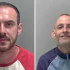 Andrew Fraser (left) and Phillip Old were jailed in Suffolk this week