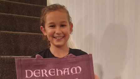 Zara Habrouk, from Toftwood, has made £3,000 for Dereham Cancer Care