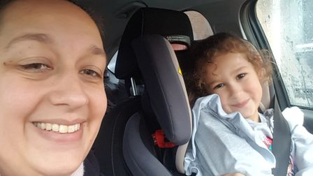 Eight-year-old Zara Habrouk, from Toftwood in Dereham, has completed a virtual mountain climb