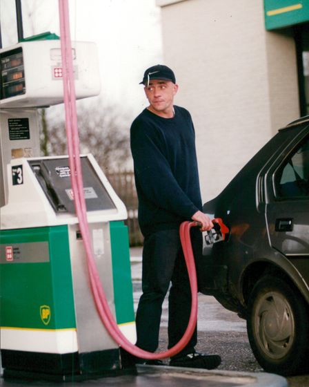 This Norfolk man can't believe the price of his fuel.
