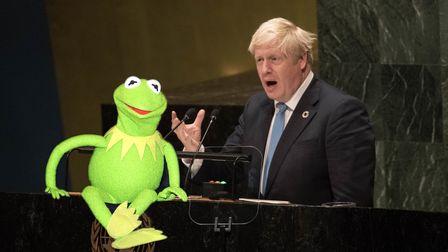 Prime Minister Boris Johnson speaks to the 74th Session of the UN General Assembly, at the United Na