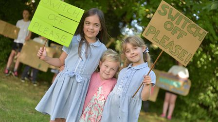 Families from Elmswell have taken part in the Great Big Green Week and are encouraging motorists to