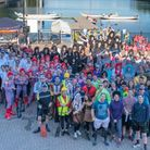 Morgan Stanley staff in dragon boat racing to raise funds for cancer charity