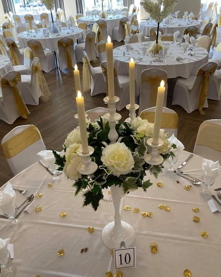 Tables dressed by Elite Events Norfolk