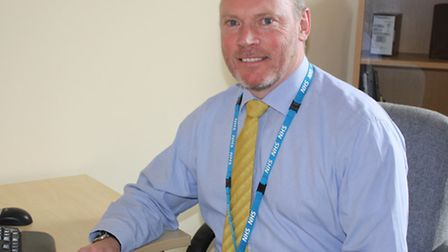 Gary Page, chairman of the Norfolk and Suffolk NHS Foundation Trust.
